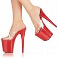 6.5 inch stripper Heels SWIMSUIT RUNWAY