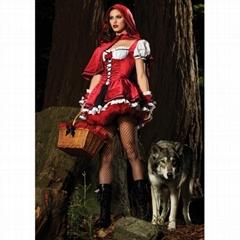 Supreme Red Riding Hood Costume