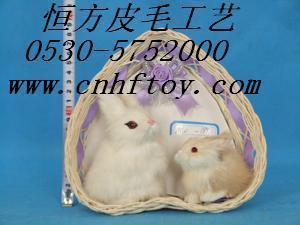 仿真兔子动物玩具 3