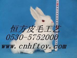 仿真兔子动物玩具 1