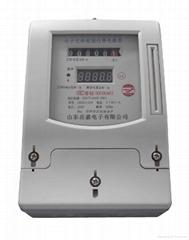 过压保护型预付费电能表