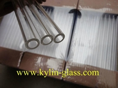 heavy wall glass tube