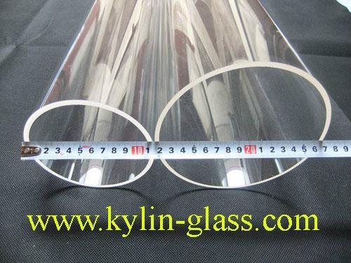 Large diameter glass tube kgq kylin china