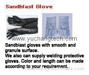 Sandblast Glove Rubber Glove Latex Glove Safety Glove