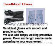 Sandblast Glove Rubber G