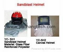 Sandblast Helmet Sandblasting Hood safety helmet canvas helmet