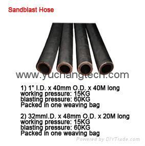 Sandblast Hose Rubber hose Suction Hose 1