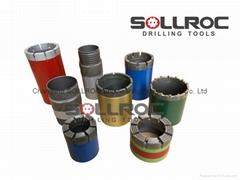 Diamond tools, Core bit & Reaming shell