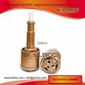 Symmetric overburden casing systems