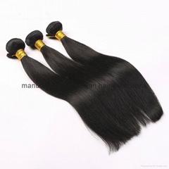8A unprocessed virgin hair brazilian virgin hair straight 3 bundles human hair