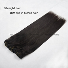 human hair extensions clip in hair remy hair extensions