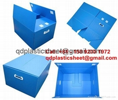 Plastic Corrugated Boxes / Plastic Corrugated Cartons