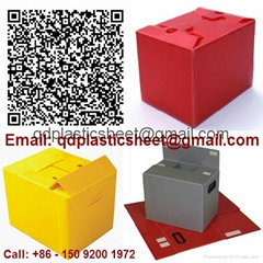 PP Corrugated Plastic Box for Vegetable Produce Packing