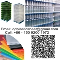 Corrugated Plastic Layer Pads For Bottles And Cans
