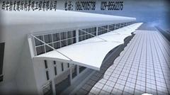 停車棚膜結構材料