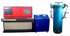 50 Mpa Water Jacket Test Machine for Gas Cylinder