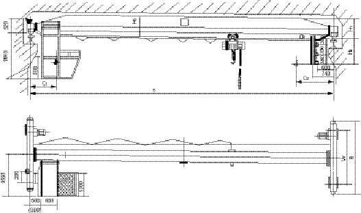 LDA型电动单梁起重机 2
