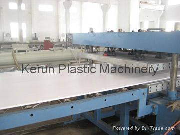 塑料建筑模板生产线 1