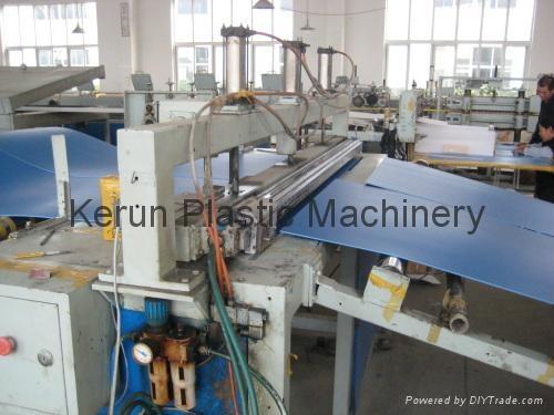 塑料建筑模板生产线 2