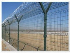 High Security Razor Wire Airport Fence
