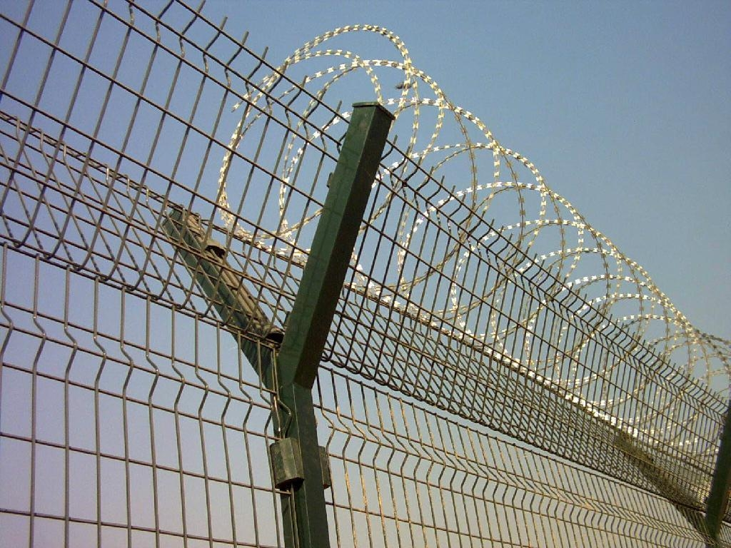 High security razor wire airport fence cndima