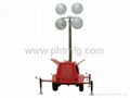 Diesel Generator Set Mobile Light Tower
