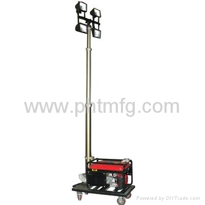 Portable Mobile Light Tower Pht 540, Portable Outdoor Lighting Tower