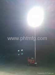 Portable Gasoline Generator Mobile Light Tower
