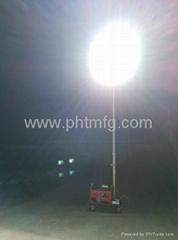 Portable Gasoline Generator Mobile Light Tower
