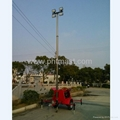4x1000W Halogen Lamps Mobile Floodlighting Tower 3