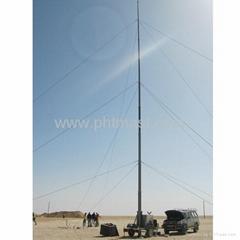 21m Pneumatic Telescopic Masts