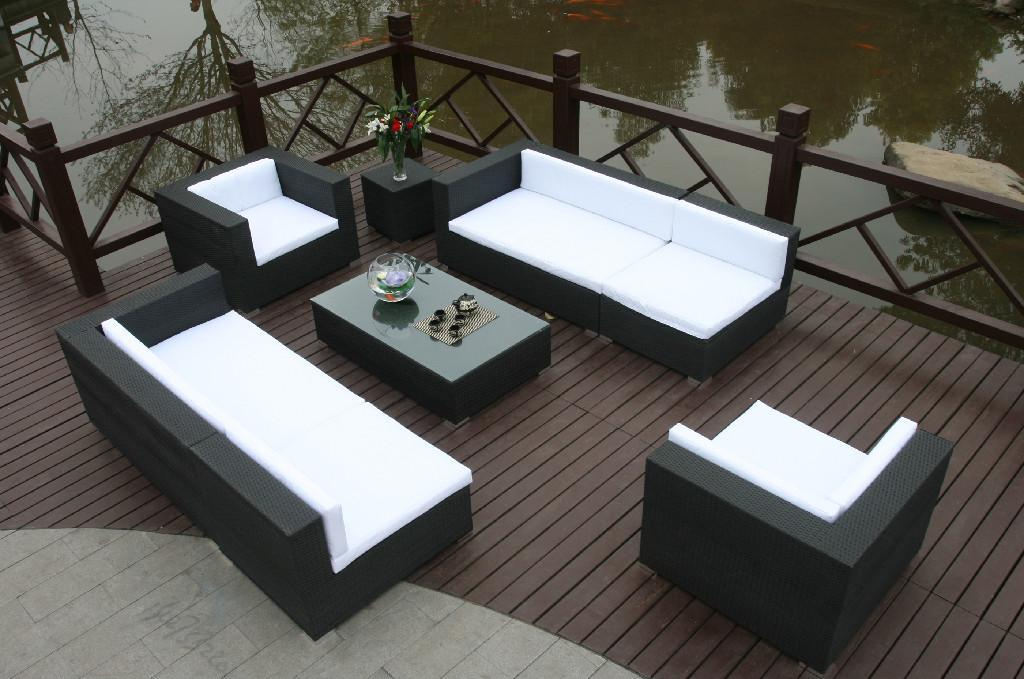 Nice Rattan And Wicker Furniture #9: Best Ing Garden Outdoor Furniture Rattan Sofa Set