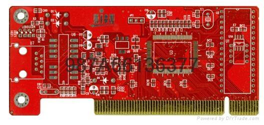 供应深圳黑色油墨FR4刚性电路板批量PCB快板打样 3