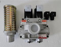 供应日本TOYOOKI丰兴双联电磁阀AD-SL231D-304D ; AD-SL231D-406D
