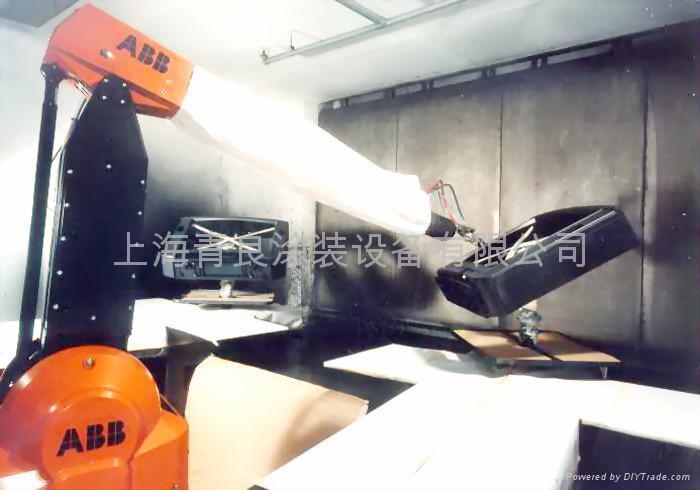 機器人塗裝設備 1