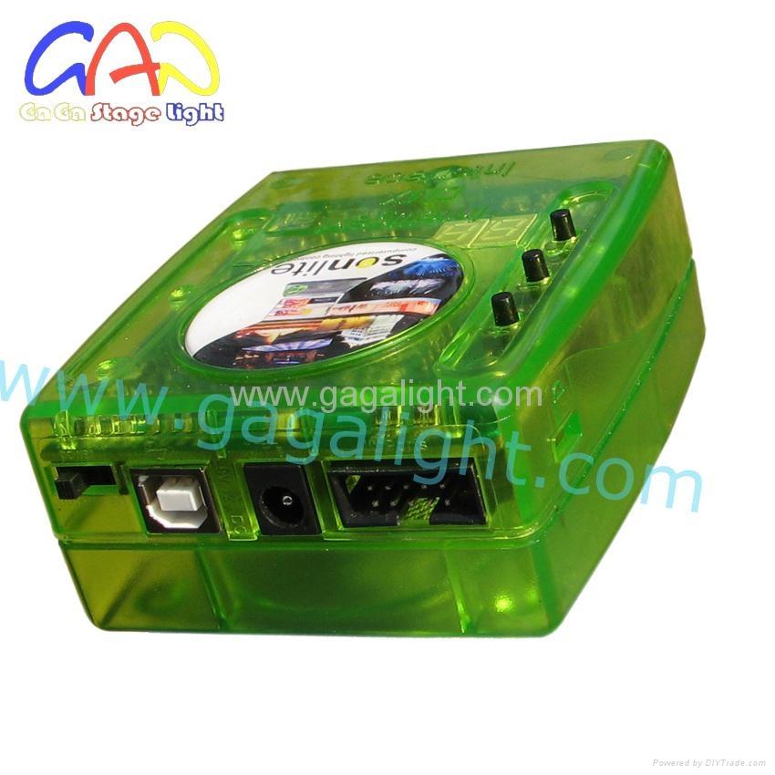 Sunlite usb interface DMX controller/DMX 512 console/Daslight