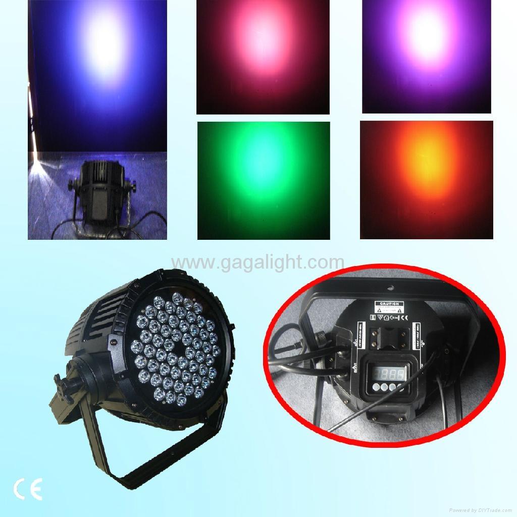 54x1w 3w Outdoor Led Par Can Led Par Light Led Light Ga Lp04 Gaga China Manufacturer