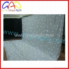 Led star curtain screen/led display/led screen
