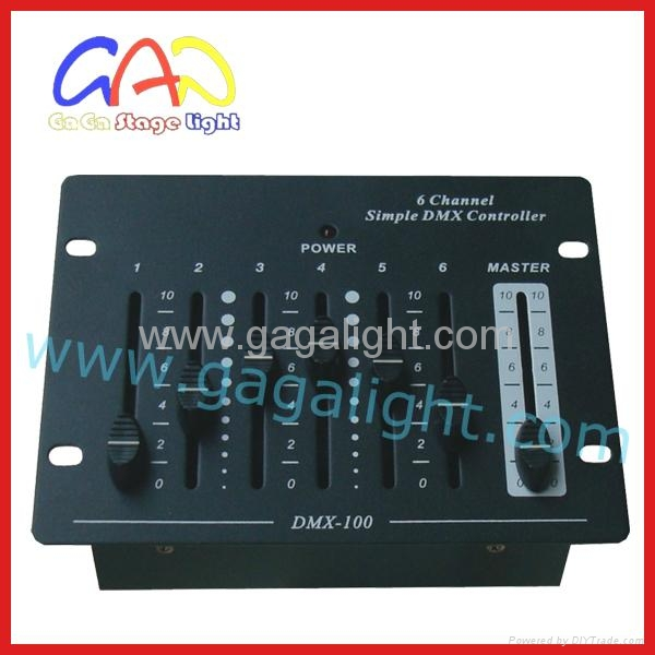 simple dmx controller 6CH /DMX512 control/usb console - China -