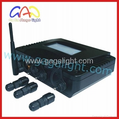Outdoor wireless controller /DMX512 control/usb console