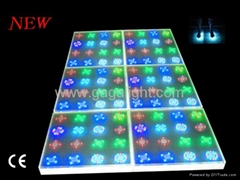 Led inductive stage floor