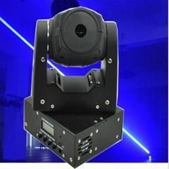 1.8 W Halogen Bulbs Animated Moving Head Laser Light 2000mW Black 25kpss ILDA 90