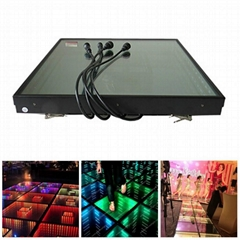 LED Dance Floor Display 3D Effect LED Dance Floor Panel