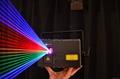 club laser rgb 2w animation Lazer light for club with 100khz