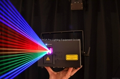 club laser rgb 2w animation Lazer light for club with 100khz
