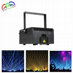 Mini 6W RGB dj laser for party Laser Light animation projector show night club d