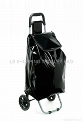PVC shopping trolley bag