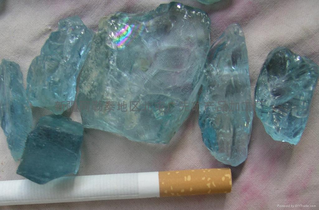 海蓝宝石原料 1
