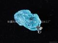 新疆精美海藍雕刻貔貅(特惠價)