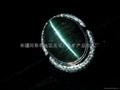 (纯天然)新疆蓝猫眼戒指(特惠价) 2